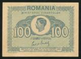 t024 BANCNOTA DE 100 LEI 1945 MIHAI I NECIRCULATA  UNC