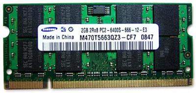 Memorie (ram) de laptop Sodimm SAMSUNG 2Gb DDR2 800Mhz PC2-6400S foto