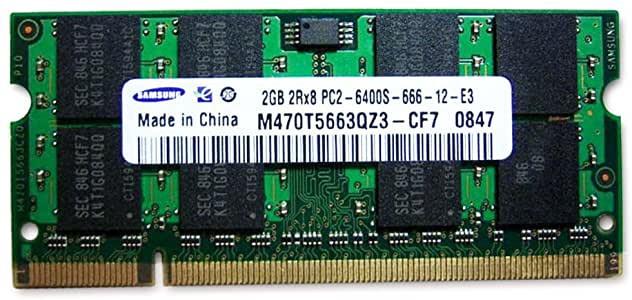 Memorie (ram) de laptop Sodimm SAMSUNG 2Gb DDR2 800Mhz PC2-6400S