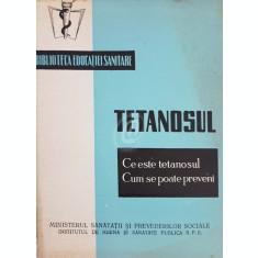 Tetanosul - Ce este tetanosul. Cum se poate preveni