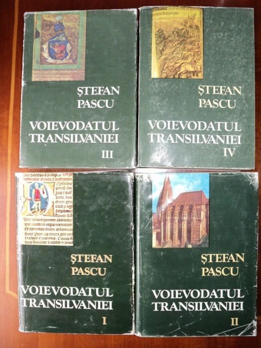 Voievodatul Transilvaniei / Stefan Pascu (4 volume)