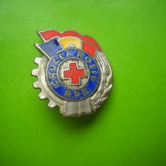 HOPCT ROMANIA INSIGNA VECHE  CRUCEA ROSIE  RPR [ 20 ]