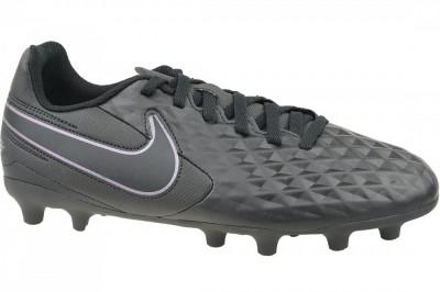 Ghete de fotbal Nike Tiempo Legend 8 Club FG/MG Jr AT5881-010 pentru Copii foto