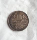 Austria - 1 Corona / Korona - 1915, Europa, Argint
