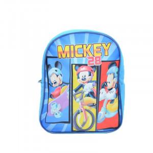 Rucsac pentru baietei Sun City Mickey Mouse QE4624AL, Albastru