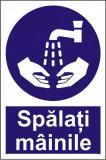 Indicator Spalati mainile - Semn Protectia Muncii