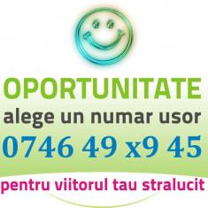Numar Usor Orange - 07.46.49.x9.45 - aur gold special cartela vip numere cartele