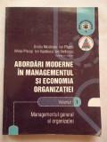 Abordari Moderne In Managementul Si Economia Organizatiei Vol - Colectiv ,269129