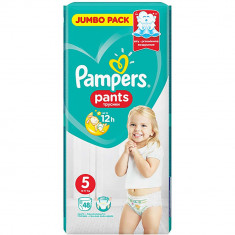 Scutece Pampers 5 Pants Active Baby, 48 buc, 11-18 Kg