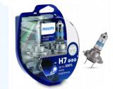 Set 2 Becuri auto Philips H7 RacingVision GT200 +200%, Becuri auto H7