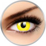 Fancy UV Yellow - lentile de contact colorate galbene anuale - 360 purtari (2 lentile/cutie)