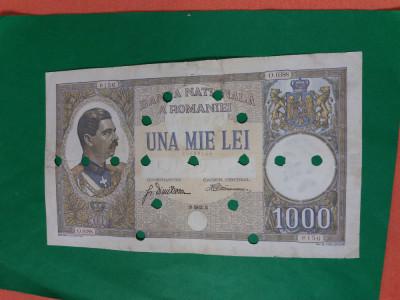 Bancnote romanesti 1000lei 1934 foto