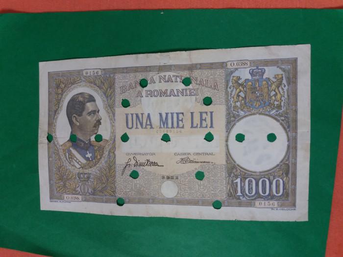 Bancnote romanesti 1000lei 1934