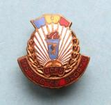 Insigna - UCFS INSTRUCTOR SPORTIV, Romania de la 1950
