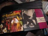 LOT de 2 discuri vinil: Muzica de Craciun si Emil Gilels (pian muzica clasica)