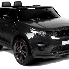Masinuta electrica Land Rover, negru metalizat
