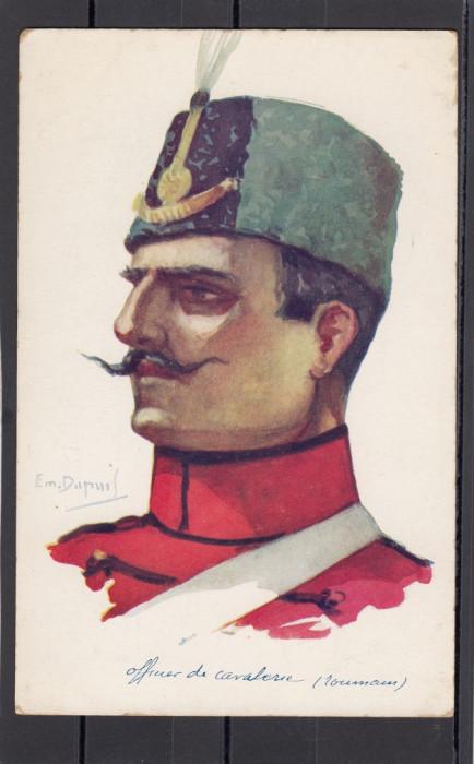Carte Postala - Romania Regala - Ofiter Cavalerie