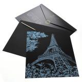 Joc creativ tip plansa de razuit,antistres, pt adulti sau copii,Turnul Eiffel