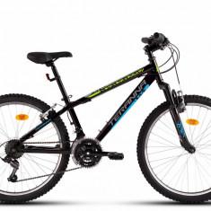 Bicicleta Copii Dhs 2423 Negru Albastru 24