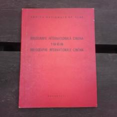 BIBLIOGRAFIE INTERNATIONALA CINEMA 1968
