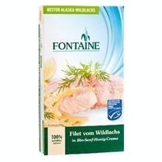 File de Somon Salbatic in Sos de Mustar cu Miere Bio 200gr Fontain Cod: 561521