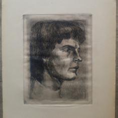 Profil de tanar// gravura