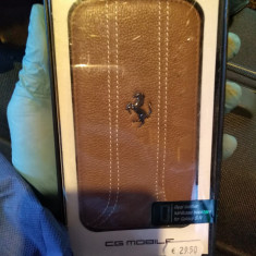 Husa Samsung Galaxy S4, Ferrari, piele