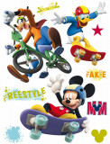 Sticker Mickey Freestyle - 65x85cm - DK855