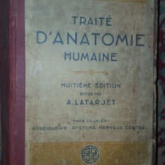 Traite d'anatomie humaine vol.2 /an1929/1252pag- Testut