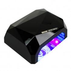 Lampa pentru unghii CCFL cu timer, 18 W, design compact