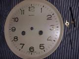 FATA CADRAN Ceas pendul de perete,Rusesc,URSS vechi+orarul si minutarul,T.GRATUI