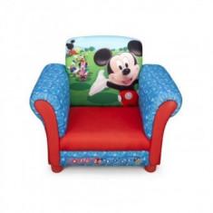 Fotoliu cu cadru din lemn Disney Mickey Mouse