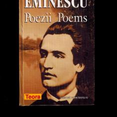 Mihai Eminescu- Poezii, poems, editie bilingva trad Leon Levitchi, Andrei Bantas