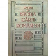 Pagini din istoria cartii romanesti - Dan Simonescu, Gheorghe Buluta