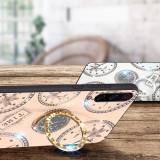 Husa pietricele + inel rotativ ' Clock '  Samsung A50 ; A50s ; A30s ; A70