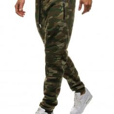 Pantaloni de trening camuflaj-multicolor Bolf 3771A-A