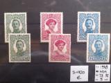1918  AUSTRIA   FELDPOST  KARL +ZITA  -  MH   DANT+NEDANT  MICHEL  123  EURO