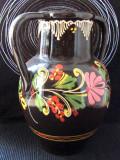 Cumpara ieftin Vaza de olarie Margrit Linck-Daepp(1897-1983).Aprox  23cm.