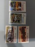 Insula Christmas - Timbre trenuri, locomotive, cai ferate, nestampilate, MNH, Nestampilat