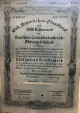 1000 Reichsmark titlu de stat Germania 1937