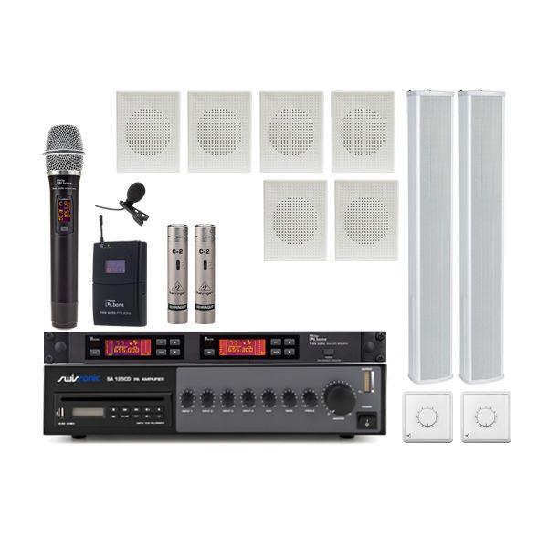 Biserica PRO S3 - Sistem audio biserica profesional USB si CD