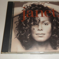 Janet Jackson - Janet CD original 1993 Holland Comanda minima 100 lei