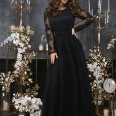 Rochie lungă din pânză