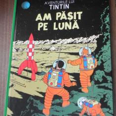 Aventurile lui TINTIN vol 17 - Am pasit pe Luna - benzi desenate romana