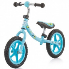 Bicicleta fara pedale copii 3-6 ani Chipolino Moby blue