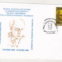 bnk cp Plic ocazional compozitorul Paul Constantinescu Ploiesti 1999