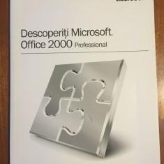Descoperiti Microsoft Office 2000 Professional. Manual (Ca nou!)
