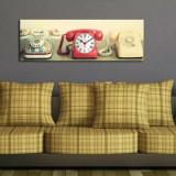 Cumpara ieftin Tablou decorativ cu ceas Clockity, 248CTY1621, Multicolor