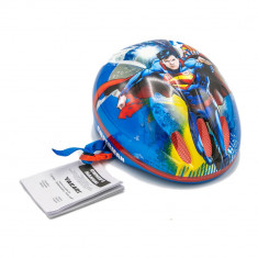 Casca protectie copii biciceleta sau role Superman 53 56 cm reglaje multiple