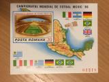 Romania 1986 - C.M.Mexic MNH*, Nestampilat